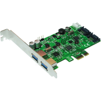 Logilink PCI-Express 2 ports Serial-ATA + 2 ports USB 3.0 Super-Speed