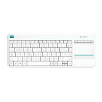 Logitech K400 Plus TV Touch Keyboard