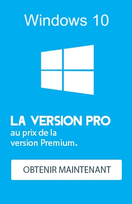 Windows 10 Pro au prix du Premium